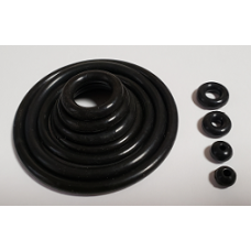 Black Silicone Rubber Rings