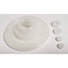 White Silicone Rubber Rings